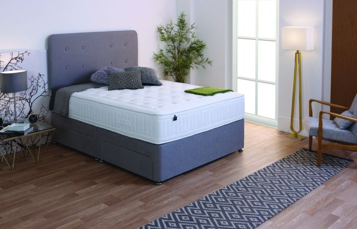 Salus Viscoool Amber with Memory Foam Mattress - Bedco