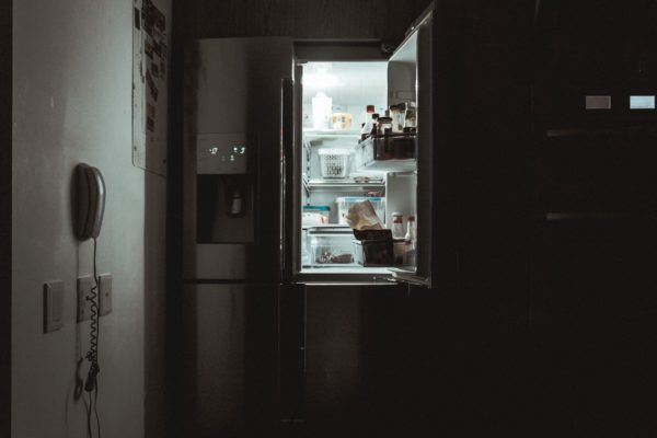 Fridge at Night