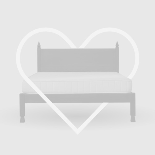 Flexa White Single Bed with Pull-out Bed