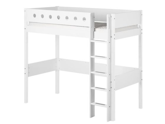 Flexa White High Bed