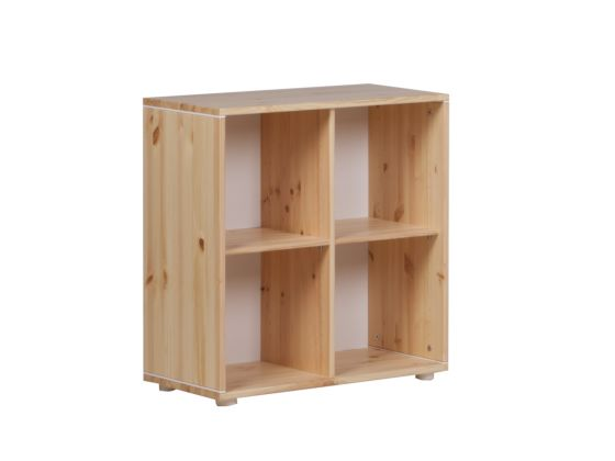 Flexa 4 Compartment Bookcase