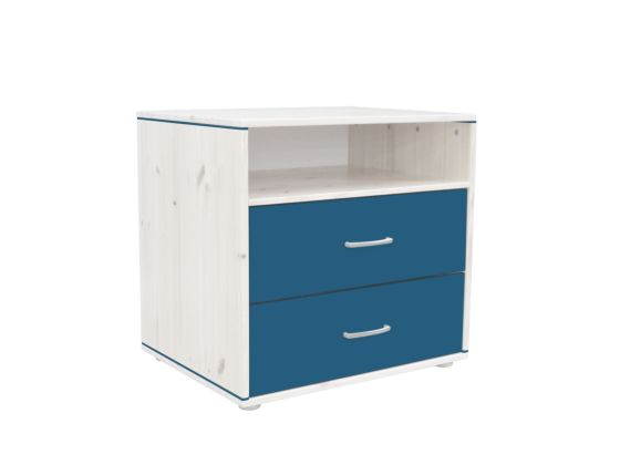 Flexa 2 Drawer Chest with Open Shelf