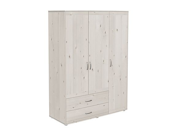 Flexa Extra High Triple Wardrobe