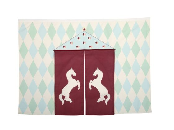 Circus Play Curtain Set