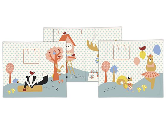 Forest Play Curtain Set