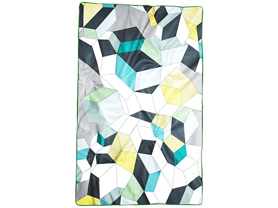 Graphic Quilted Bed Cover