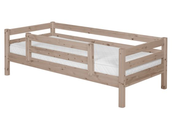 Flexa Classic Bed with Centred Safety Rails