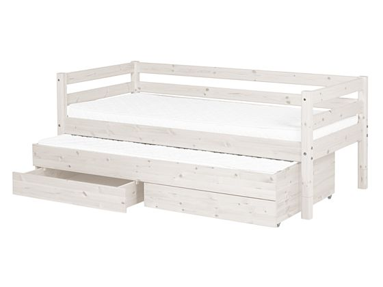 Classic Bed With Pull Out Bed and Drawers