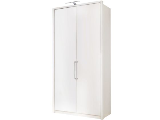 Berlin White 100cm Wardrobe