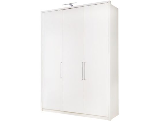 Berlin White 150cm Wardrobe