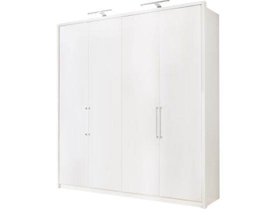 Berlin White 200cm Wardrobe