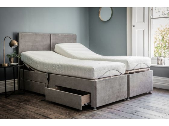 Deep Adjustable Divan Bed