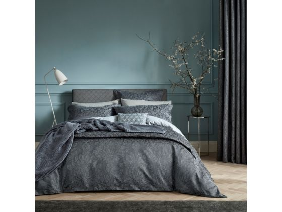 Allegro Duvet Cover Midnight-Super Kingsize