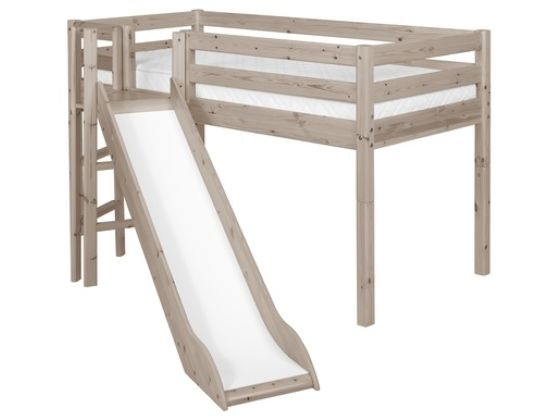 Flexa Classic Mid-high Bed with Platform & Slide