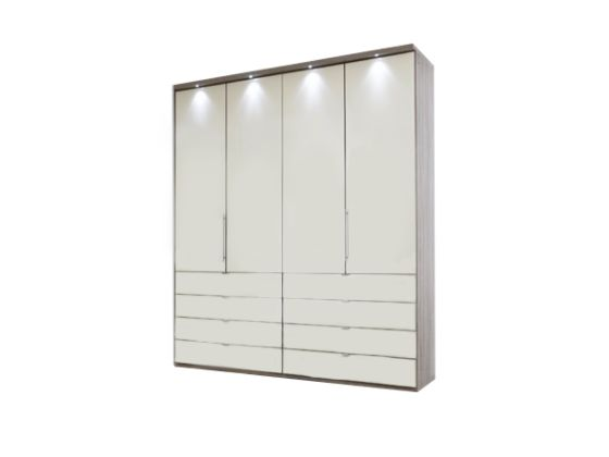 Loft 200cm Wardrobe with Drawers