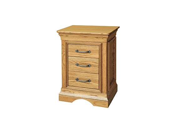 Lyon 3 Drawer Bedside