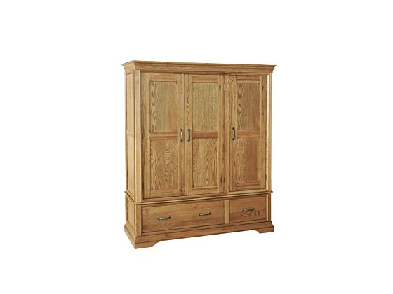 Lyon Triple Wardrobe with Drawers