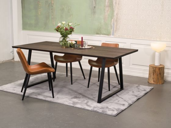 Forest Mocca Oak Table 180cm