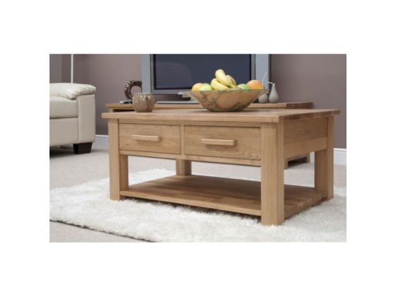Opus Coffee Table with Drawers