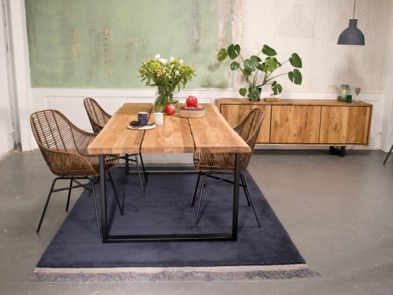 Forest Knotted Oak Table 180cm