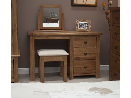 Rustic Dressing Table and Stool