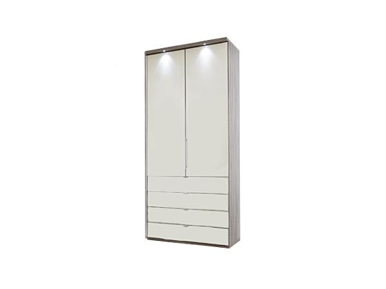 Loft 100cm Wardrobe with Drawers
