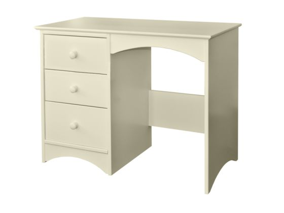 Elfin Single Pedestal 3 Drawer Desk/Dressing Table