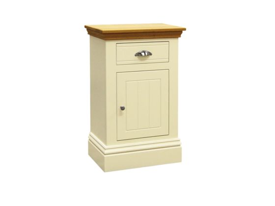 New England Small Door and Drawer Bedside