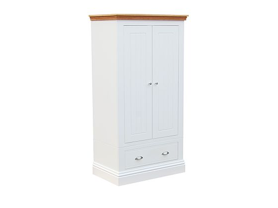 New England Small Wardrobe with Drawers