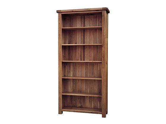 Rustique 6'0 Wide Bookcase