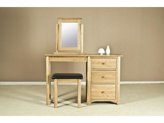 Turin Oak Dressing Table
