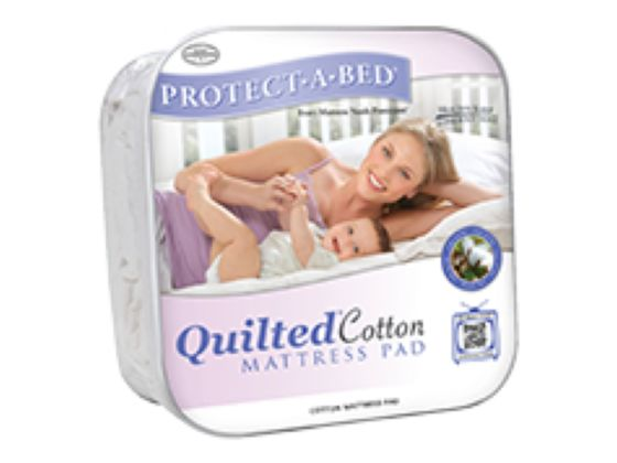 Quilted Cotton Mattress Pad Protector
