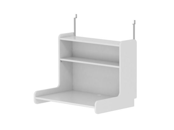 Flexa White Click-on Desk