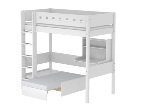 Flexa White Casa High Bed